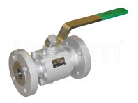 Ball valve for high temperatures