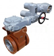 Ball valve with stuffing box