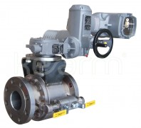 Ball valve with metal seats